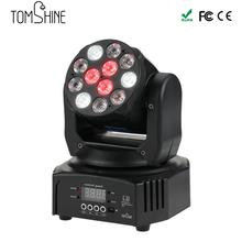 DMX512 Master-Slave 40W LED Moving Head Spot Stage Light Hi-Quality Hot Sale Washing Effect  Led Moving Light New DJ Disco Light