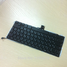 New Laptop A1278 Russain Keyboard 13.3'' 2009-2012 For Apple Macbook Pro Keyboard Replacement(China)