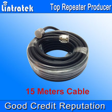 Wholesales 5D Cable 15 Meter 50ohms Top Quality Coaxial Cable N Male for Signal Repeater Booster and Antennas N Connection /
