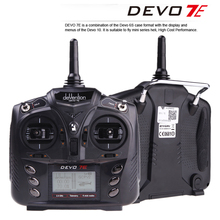 Walkera DEVO 7E 2.4G 7CH DSSS Radio Control Transmitter for RC Helicopter Airplane Model 2 Mode 1 F18519