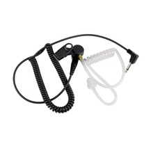 noise reduction 3.5mm Radio Earpiece Listen Only Transparent Acoustic Tube for PR1500 HT1000 Ham Radio portable Walkie Talkie