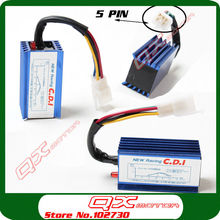 Performance Racing CDI Box 50 70 90 110 125cc Dirt Pit Bike ATV Quad monkey bike Motorcycle CDI 5Pin Upgrade Free shipping
