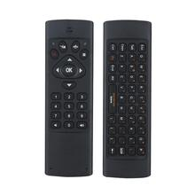 Mini 6-Axis Gyroscope 2.4G Wireless Keyboard IR Study Remote Air Fly Mouse Keyboard for PC Tablet Network TV Android TV box
