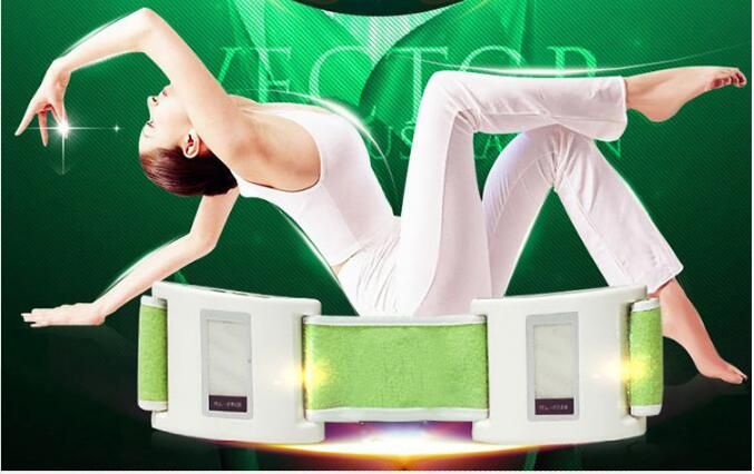 Anti Cellulite Waist Massager Slimming Massage Device Muscle Relax lose weight Health Care slimming belt body massager <br>