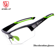NEW Photochromic Cycling Bicycle Glasses Discoloration Riding Fishing Goggles Bike Sunglasses UV400 Eyewear Sun Glasses