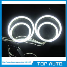 4pcs VW PASSAT CCFL ANGEL EYES HALO RINGS bulbs lamps set kit - white