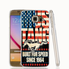 22158 Ford Mustang us America flag 1 cell phone case cover for Samsung Galaxy S7 edge PLUS S6 S5 S4 S3 MINI