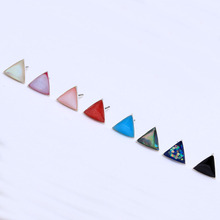 925 sterling silver stud earring triangle shape design jewellery for women wedding jewelry luxury 2016 new and hot earrings