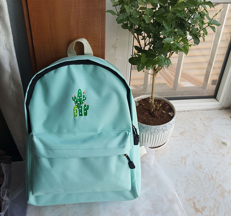 canvas school bag backpack (4)