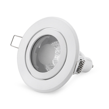 Free Shipping 2PCS/Lot Gu10 MR16 GU5.3 Spot Led Recessed Ceiling Light Fittings Halogen Spot Fixtures(China)