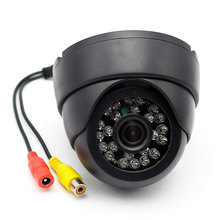 Free Shipping Closed Circuit Television Monitoring Camera for Bus Truck LED IR Infared Indoor Security CCTV Dome Camera(China)