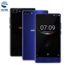 Doogee Mix Mobile Phone 5.5 Inch HD Helio P25 Octa Core 4GB/6GB RAM+64GB ROM 8MP+16MP Dual Rear Cam Fingerprint Bezel-less Phone