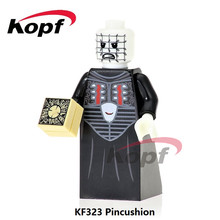Single Sale Pincushion Billy Michael Myers Hannibal Exorcist The Horror Theme Movie Building Blocks Children Gift Toys KF323