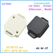 small electronics enclosures for pcb  (20 pcs)36*36*15mm electronics outlet enclosures plastic enclosure switch box