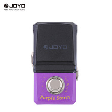 JOYO JF-320 Purple Storm Fuzz Mini Electric Guitar Effect Pedal with Knob Guard True Bypass(China)