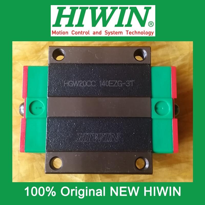 1pcs HIWIN HGW20 HGW20CC HG20 New original linear guide block Original HIWIN Linear Guide CNC Parts Stock Good<br>