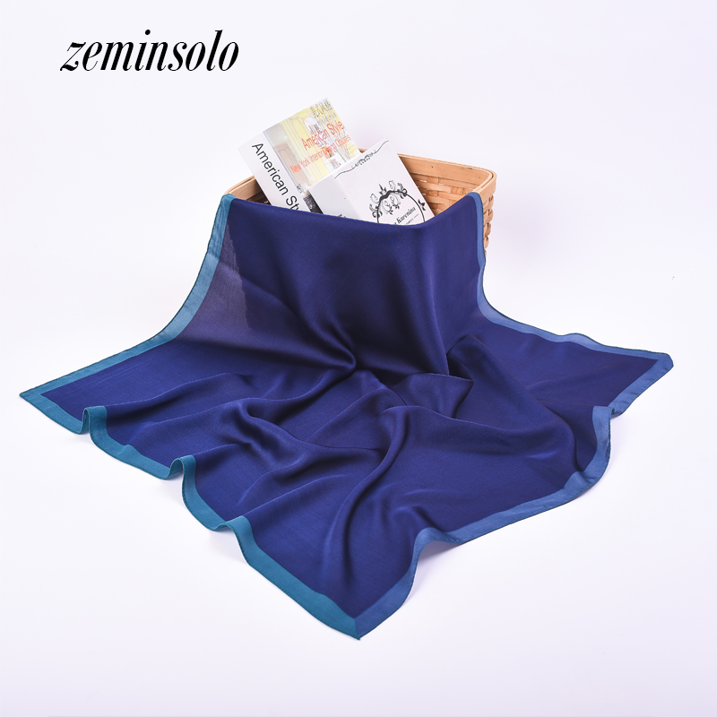 Square Silk Scarves For Women Luxury Designer Brand Silk Scarf Women Ladies Scarves Female Hijab 70*70cm Thin Soft Bandana Shawl(China (Mainland))