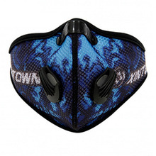 PM2.5 Women and Men Sports Cycling Carbon Filters Mask Neoprene Dust Smog Protective Half Face Mask(China)