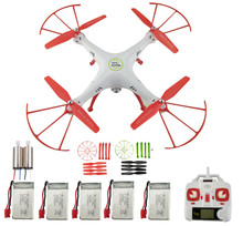 SYMA New X5HW FPV RC Quadcopter 2.4G remote control airplane remote control aircraft WIFI camera-Red