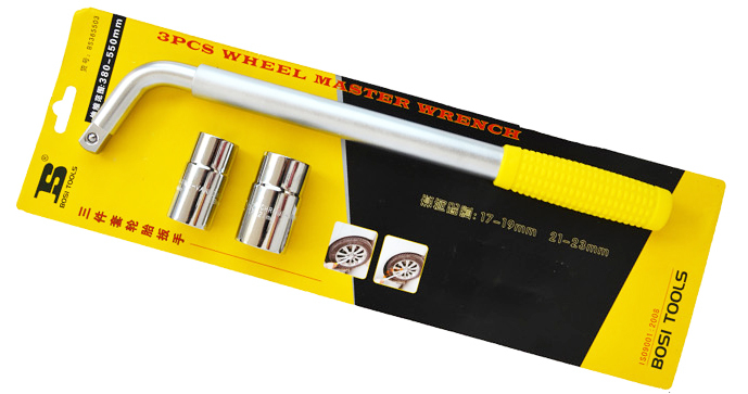 free shipping 1/2Dr. telescopic master car wheel socket wrench<br>