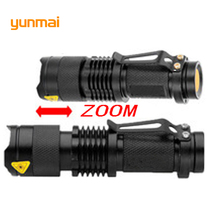 High Poweful XML T6 XM-L2 Tactical Flashlight Mini Lampe Torche Waterproof Zoom Led Torch Penlight Use 14500/AA/18650 Battery
