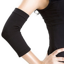 2pcs/set Phenovo Elastic Compression Elbow Support Sleeve Arm Brace Wrap Guard (Black) Hot Sale
