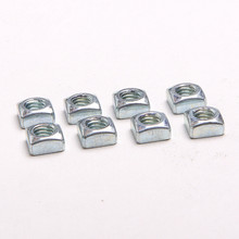 25PCS Specials Quartet Quartet Mother Nut Parent Party Square Nut M5*8*4
