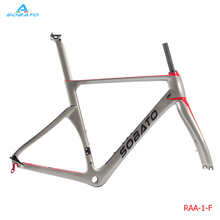 Buy UD Carbon Matt Road Bike Frame 54cm 700C Bicycle Fork, Seatpost Headset, BB30 for $414.00 in AliExpress store