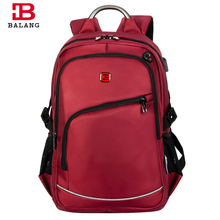BALANG Brand Popular College School Backpacks for Teenagers Boys Waterproof Travel Notebook bags for Girls Fashion(China)