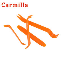 Carmilla Auto Car Radio Panel Door Clip Panel Trim Dash Audio Removal Installer Pry Kit Repair Tool 4pcs Portable Practical(China)
