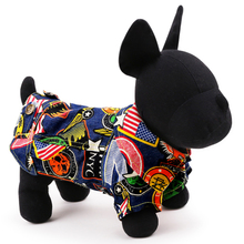 2015 Fashion Denim Pet Dog Clothes Cowboy Costume Coat Puppy Cat Jacket Pug Chihuahua Poodle Apparel XXS XS S M L New Arrival(China)