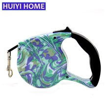 Huiyi Home 5m Retractable Dog Leash Pet Supplies 12 Styles Dogs Belt Goods For Animal Puppy Pets Accessories ENA016