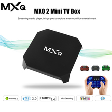 Original MXQ 2 Mini TV Box Android 6.0 Amlogic S905X Quad-core CPU 1080P 100M Ethernet NO Bluetooth Support Miracast DLNA(China)