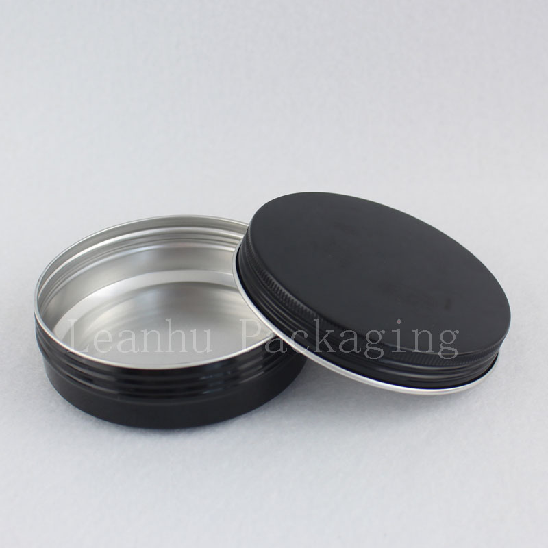 50g 100g black aluminum jar (5)