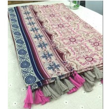 Fashion 1 Women Ladies Boho Fluid Systems Large Pashmina Scarves Vintage Paisley Long Stole Wrap Scarf(China)