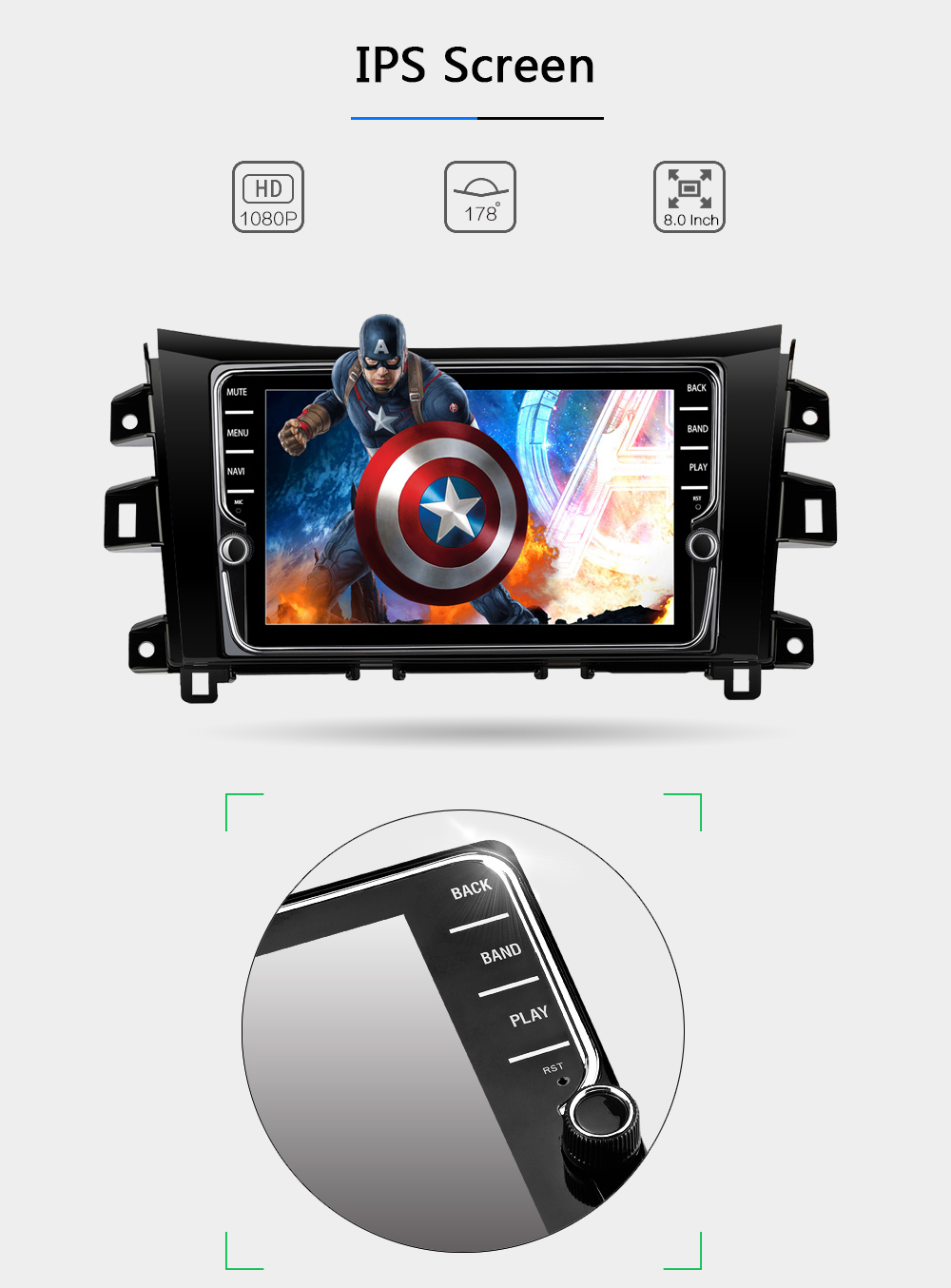 Android 8.0 Car Dvd Navi Player FOR NISSAN NAVARA (2001-2011)NP300 (2001-2011) gps auto stereo audio multimedia