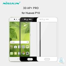 Nillkin Huawei P10 Glass Screen Protector 3D AP+PRO 9H Curved Edge Full Cover Anti-Explosion Tempered Glass Film for Huawei P10
