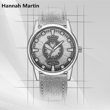 Hannah Martin Brand HM Sun God Series Watches European Style Men Design Japanese Movement Leather Wristwatch Top 2017 FD1031