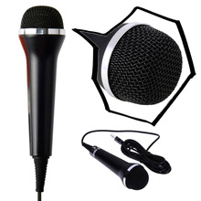 Universal USB Audio Handheld Wired Karaoke Microphone Mic for PS4 Slim Pro for PS3 / Xbox One S / 360 / Wii PC(China)