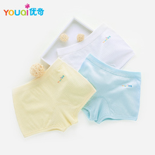 YOUQI 3Pcs Unisex Baby Underwear Cotton Baby Boys Short Pants Lovely Briefs Girls Toddler Infatil Panties Underpants For Baby(China)