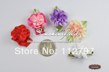 Infant Hair Clip Mini Flower Snap Clip Baby Girl Snap Clip for Toddlers and Children 100pcs/LOT QueenBaby Trial Order