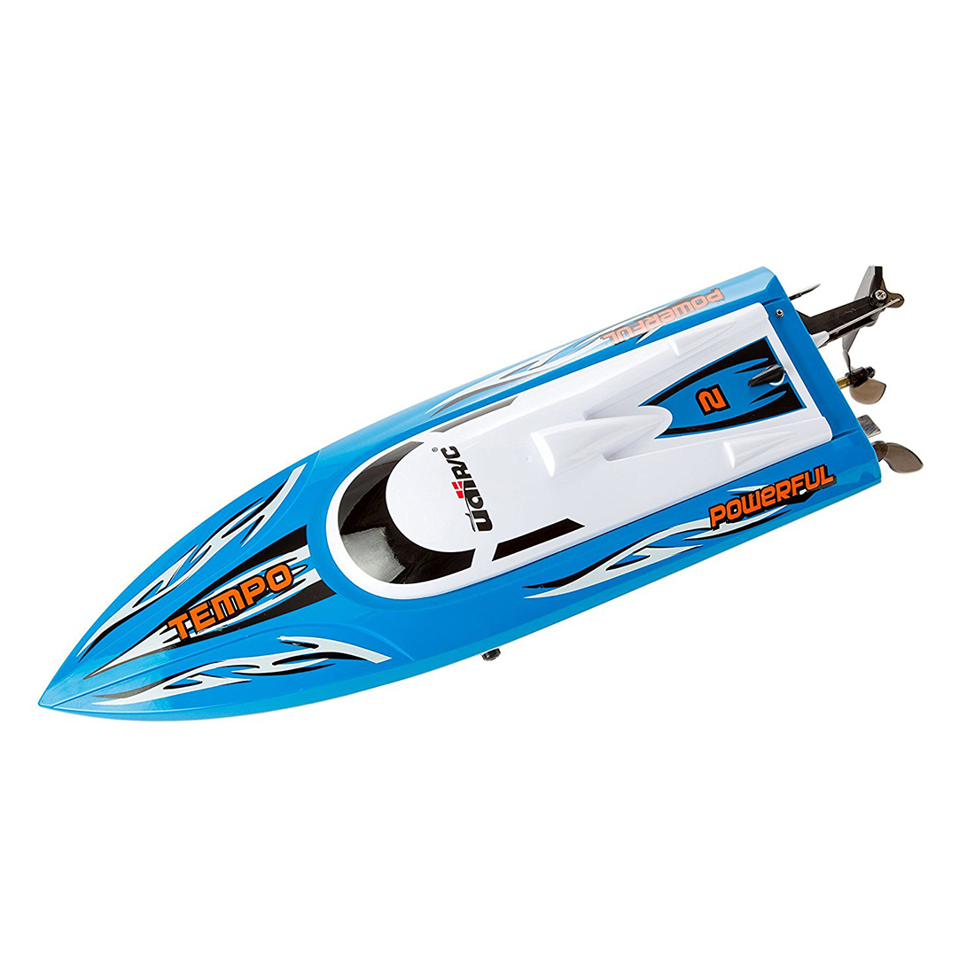 New Udirc RC Boat UDI002 2.4GHz Remote Control Boat, Blue, High Speed, Electric