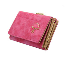 R1   Fashion and unique design Women  Umbrella matte  Leather Multifunction Wallet Button Clutch Purse Girl Short Handbag Bag