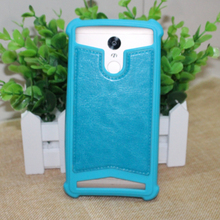 Smmnas Universal Soft Silicone With PU Leather Case For Vernee Mars Pro Apollo Lite Mars Thor Phone Bags