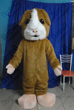 high quality EVA head with fan and helmet plush brown bunny mascot costumes Fold rabbit costumes