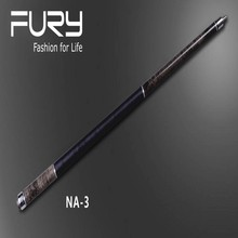 FURY billiard stick /Maple pool stick/Maple Tiger Stripe Wood/American pool Cue/ 11.75mm /12.75mm Tip (optional)/ NA-3