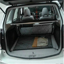 Accessories 4PCS FIT FOR SUBARU FORESTER ENVELOPE+FLOOR+SIDE TRUNK CARGO NET MESH ELASTIC HOOK LUGGAGE