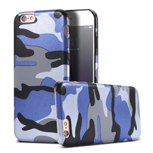 For iPhone 7 Plus Case New Army Camo Camouflage Hard Case For iPhone 6 6S Plus 4.7&5.5 i5 5S SE Retro Cool Fashion Leather Cover