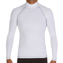 Rash guard sun protection Diving Long Sleeve Swimsuit High Quality Lycra Rashguard For Men Wetsuit  surfing shirt short sleeve