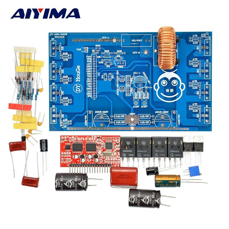 AIYIMA 1 Set 1000W Pure Sine Wave Inverter Power Board Post Sine Wave Amplifier Board DIY Kits <br>
